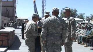 Combined Security Transition Command - Afghanistan CSM Arthur L Coleman
