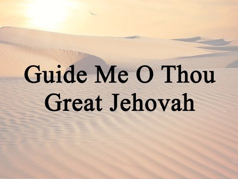 Guide Me O Thou Great Jehovah (Hymn Charts with Lyrics, Contemporary)