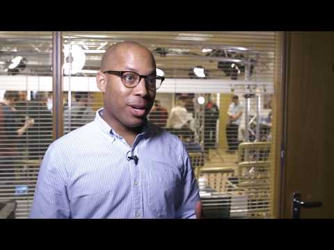 Simeon Quarrie at the home of Rotolight with Canon and The Video Mode