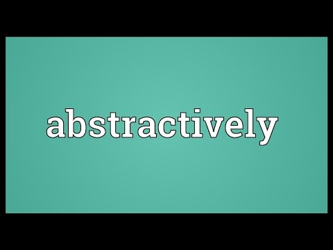 Header of abstractively