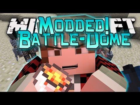 Minecraft: Modded BATTLE-DOME w/Mitch - Aliens VS Predators Mod!