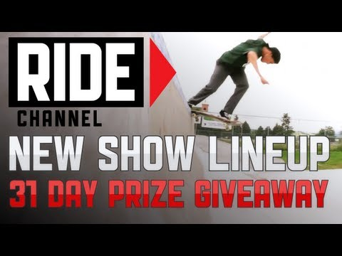 Tony Hawk Introduces New Show Lineup and Subscriber Giveaway