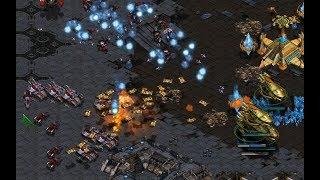 Last (T) v Shuttle (P) on Circuit Breakers - StarCraft  - Brood War REMASTERED