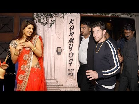 Priyanka Chopra's Boyfriend Nick Jonas Arrives At Priyanka's House For WEDDING Ring Ceremony thumbnail