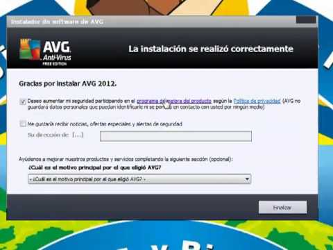 Como Descargar Y Utilizar Avg Antivirus 2012.mp4