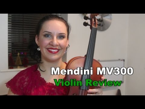 $67 Violin Review - Mendini MV300 FANTASTIC!!