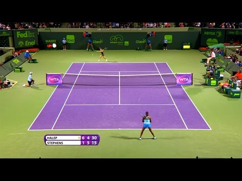 Simona Halep 2015 Miami Open Hot Shot