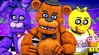 Five Nights at Freddy's Song (FNAF SFM 4K)(µThunder Remix)