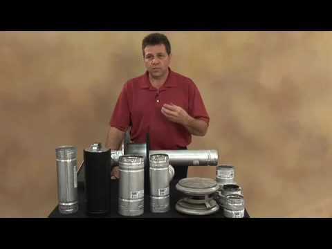 Pellet Stove or Fireplace Venting Demonstration: Part 1