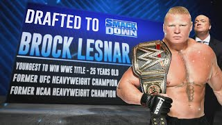 Brock Lesnar heads to SmackDown and more in WWE Draft First Round: Raw, Oct. 14, 2019