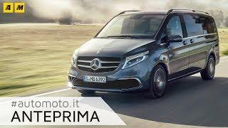 Mercedes Classe V 2019   Nuovi motori e ambiente da prima classe