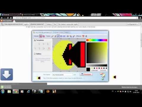 tutorial: como crear tu propio puntero del mouse en 3D con circulo neon!! SIN DESCARGAR NADA !!!!!