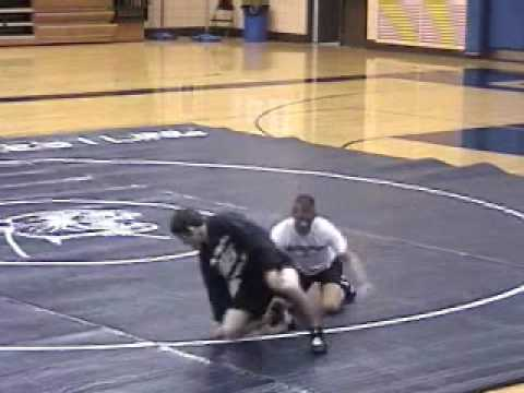 Mark McKnight Wrestling Technique- Single Leg Takedown Image 1