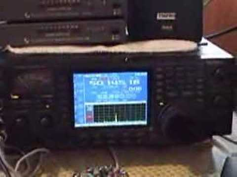 Aurora opening during ARRL VHF contest 2005