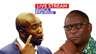 LIVE: Debates at Aardklop Festival with Freek Robinson
