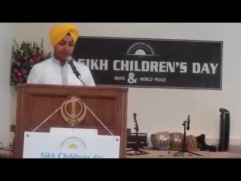 Boliyan Na Maro loko ( EkJot Singh ) Sikh Childrens Day