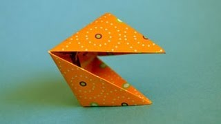 Origami Snapper Instructions: Www.origami-fun.com