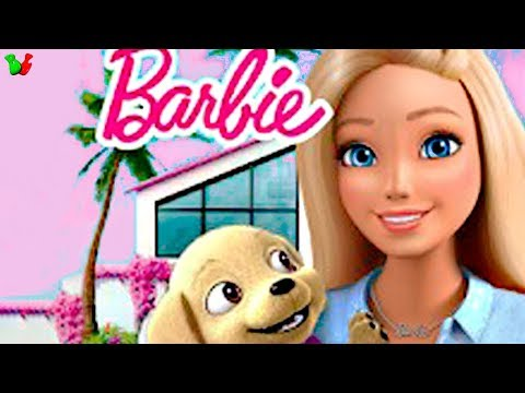 БАРБИ Приключения и НОВЫЕ ОБОИ в Доме Мечты #3 Мультик Игра для Девочек Barbie Dreamhouse Adventures