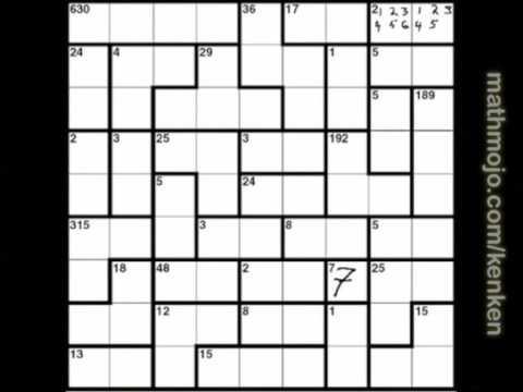 picture relating to Printable Kenken Puzzles 9x9 named Kenken Definition. Crossword Dictionary.