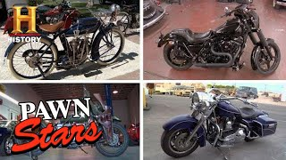 Pawn Stars: 4 High Price Motorcycle Deals | History