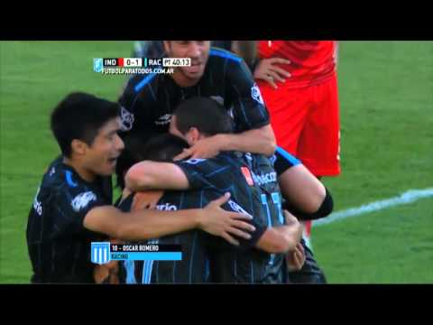 Racing sorprendió a Independiente y le ganó 2 a 0