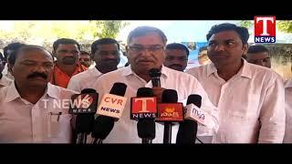 MLA Dasari Manohar reddy Launches Corn Purchase Counters | Peddapally  Telugu