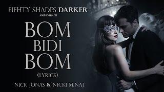 Nicki Jonas & Nicki Minaj - Bom Bidi Bom (Lyrics)