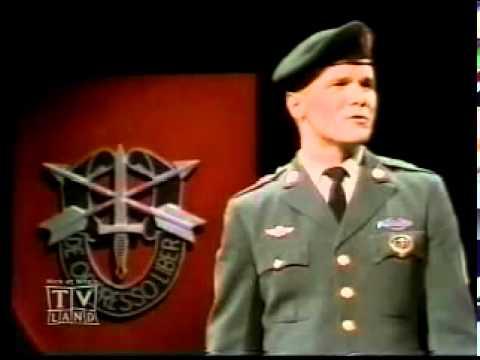 SSgt Barry Sadler, Ballad of the green beret.flv
