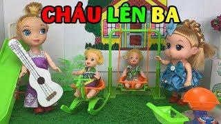 Búp Bê Chibi hát Cháu Lên Ba | nhạc thiếu nhi | Búp Bê Biết Hát | Trẻ Thơ TV