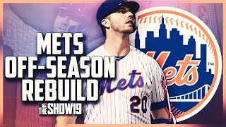 NEW YORK METS OFF-SEASON REBUILD! BEST PITCHING STAFF EVER!! | MLB the Show 19 Franchise