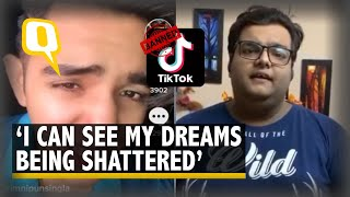 'Don't Forget Me, I'll Continue to Entertain': TikTok Users on Ban | The Quint