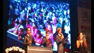 SDV_Martin Bester and Riva Schoeman have a sing-off with Kurt Darren..MP4