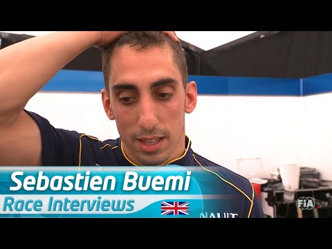 Difficult To Lose By One Point - Sebastien Buemi (London ePrix)