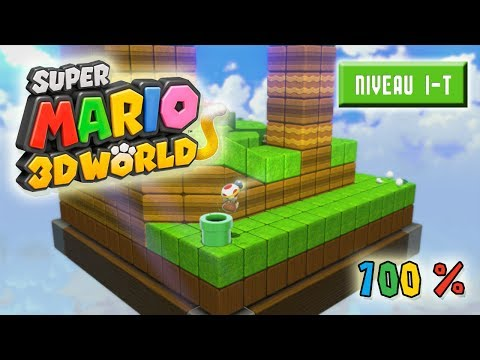 Super Mario 3D World à 100% : Niveau 1-T