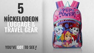 "Top 10 Níckelodeon Luggage & Travel Gear [2018]: Paw Patrol Little Girls Pup Power! 16"" Backpack,"