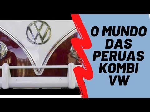 O mundo das peruas Kombi VW