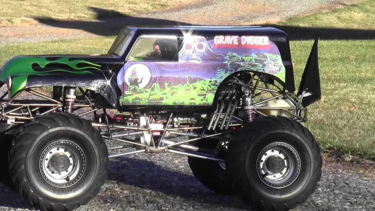 Grave Digger Monster Truck Build Grave Digger Enthusiast Builds