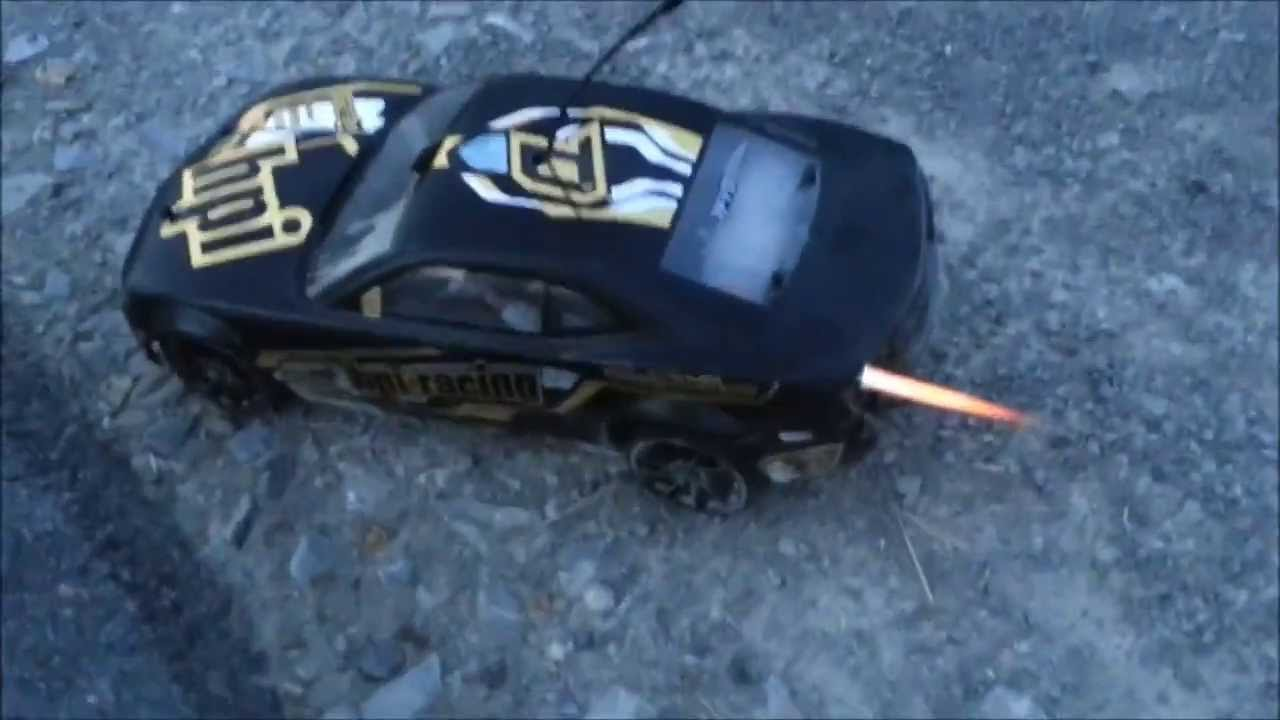 rc car meets nos nitro real flame driving youtube. Black Bedroom Furniture Sets. Home Design Ideas