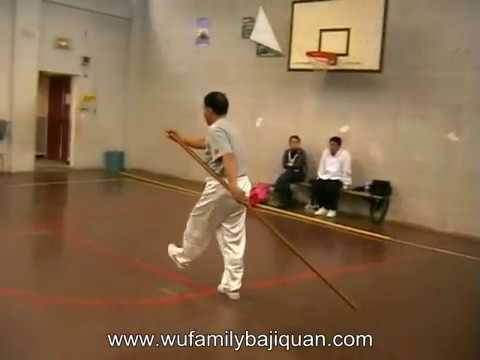 Baji Quan 6 harmony big spear (六合大枪) training Image 1