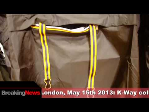 2013 – BreakingNews: K-Way collaborating with Versus, Versace's sister label