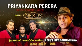 Priyankara With NEXUS LIVE Band  Milano 2018