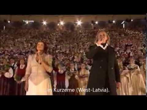 Latvian Song Festival 2013 - Dvēseles dziesma (The Soul's Song) ENGLISH translation/subtitles