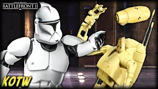 Star Wars Battlefront 2 TOP 5 KILLS OF THE WEEK (DROID HEAD PUNCHED OFF!)