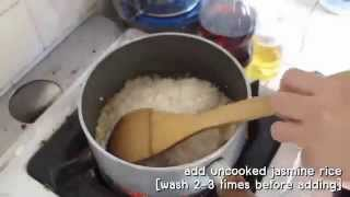 Thai Chicken rice khao man gai 2014