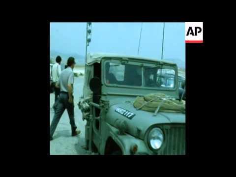 SYND 19 4 73 DEPUTY PREMIER ALLON TOURS OCCUPIED ARAB LANDS