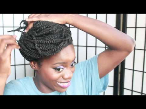 Kinky Twist Tutorial First Time Doing Kinky Twist!!!