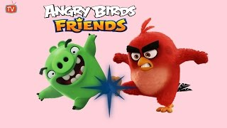 Moustache Pig Tournament Walkthrough Angry Birds Friends Three Star Gameplay