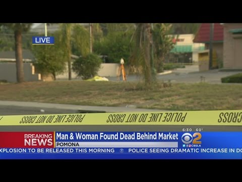 Woman, Man Found Shot To Death Behind Pomona Market