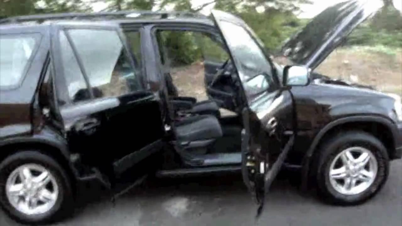 Honda Crv 99 Ex Negro Automatico - YouTube