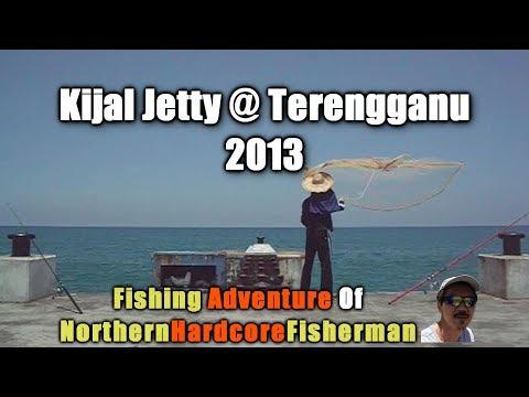Fishing trips at Kijal Jetty, Terengganu, East Coast of Malaysia